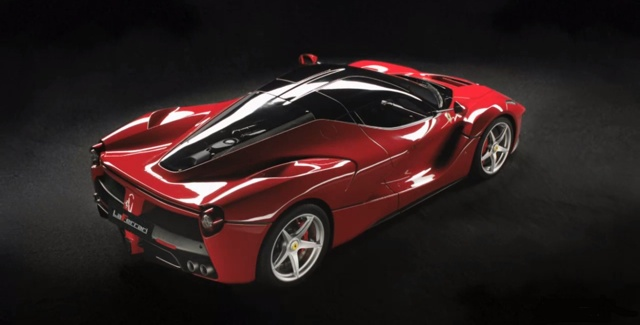 The LaFerrari (Ding Lei hasn't specified which specific Ferrari model he's planning to give away)