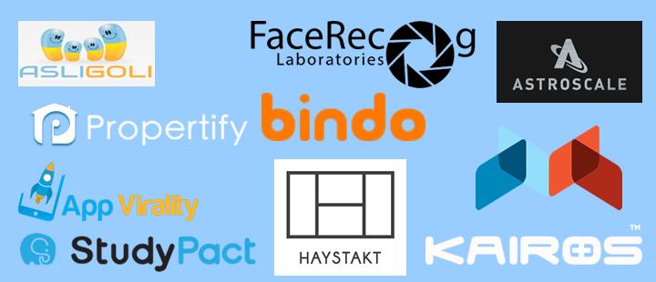 startup arena logos
