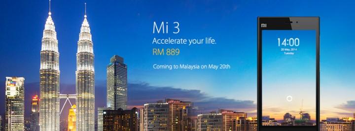 xiaomi mi3 malaysia facebook