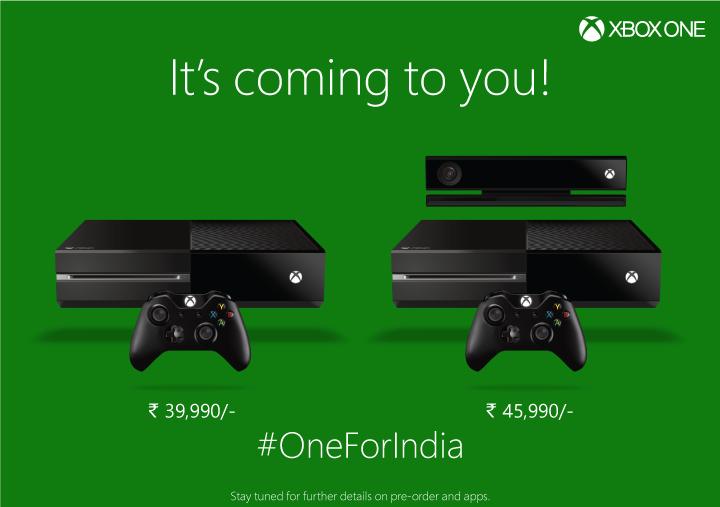 Xbox One India