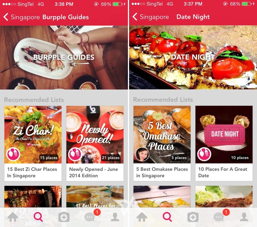 Burpple app update 3.0