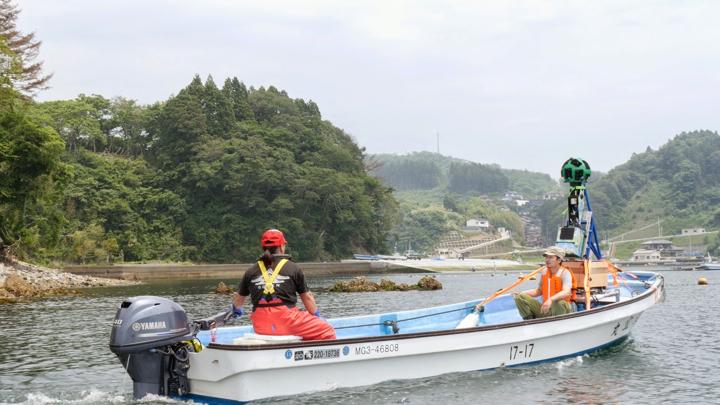 Google Boat Trekker