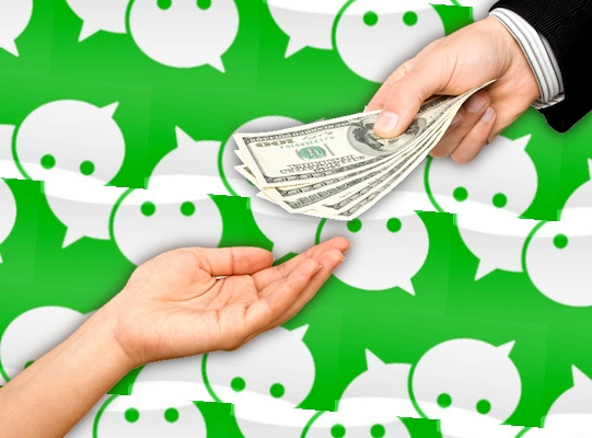WeChat transfer money to friends
