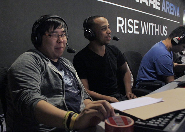Justin Wong and Mike Ross at SEAM 2013!