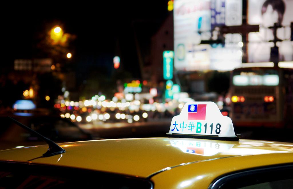 taiwan taipei taxi