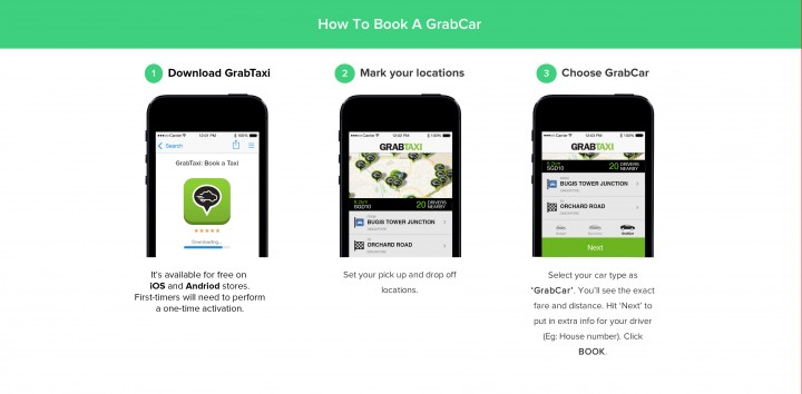 GrabTaxi hits at Uber in Singapore with launch of premium service GrabCar
