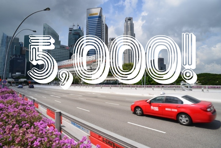 In just 2 weeks, 5,000 Singapore cab rides on EasyTaxi booked using WeChat