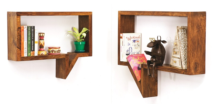 Quote-Unquote Wall Shelves