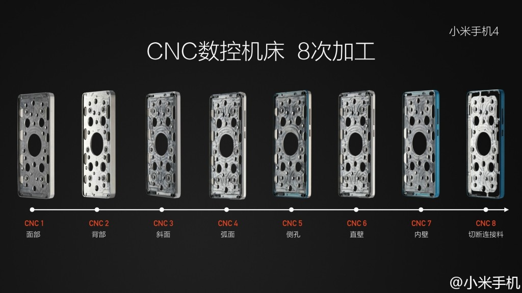 Xiaomi Mi4 metal body