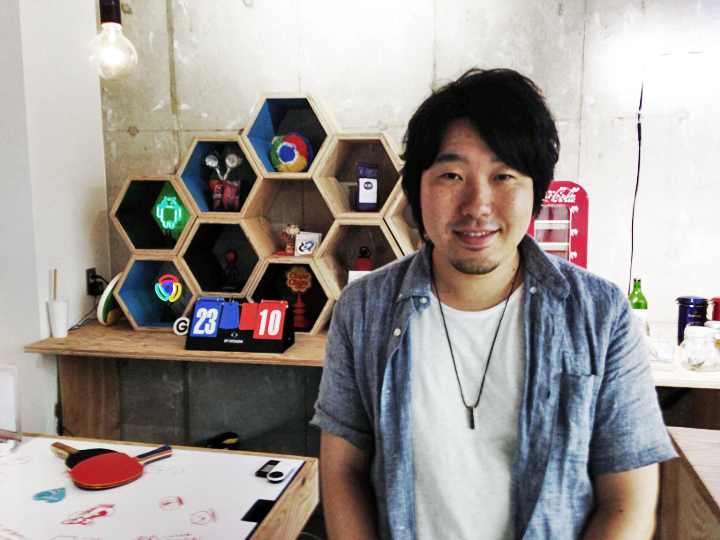 Naofumi Tsuchiya, founder and CEO of Goodpatch