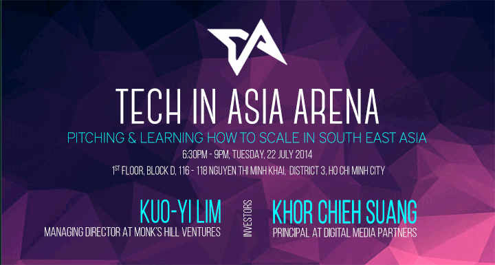 Tech in Asia Arena Ho Chi Minh city