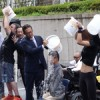Japan's tech titans are doing the Ice Bucket Challenge too