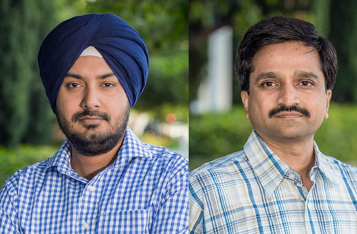 Jaspreet Singh and Milind Borate, founders of Druva