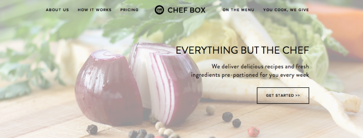 Chef Box aims to deliver a heartwarming cooking and dining experience to your doorstep