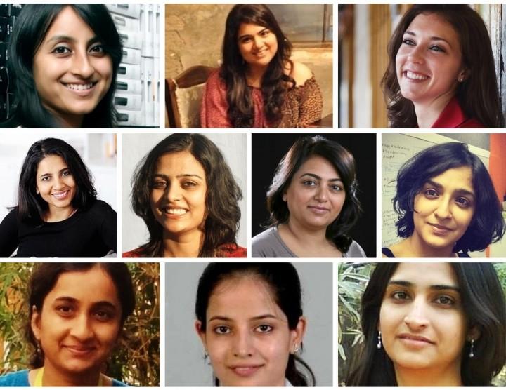 (From left to right) Richa Kar, Preeta Sukhtankar, Valerie Wagoner, Suchi Mukherjee, Aditi Gupta, Sabina Chopra, Ashwini Asokan, Parul Gupta, Pranshu Bhandari and Chitra Gurnani