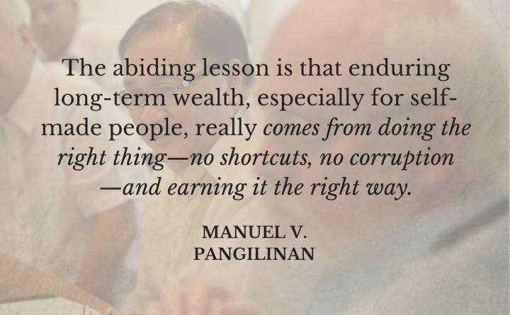 manny v. pangilinan inspiring quote