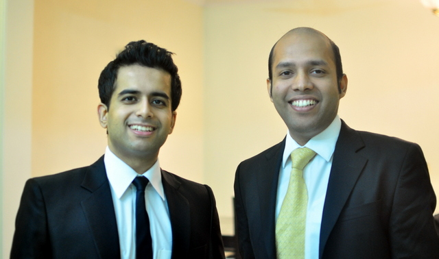 Saurabh Nangia and Rahul Singh, co-founders of TargetingMantra