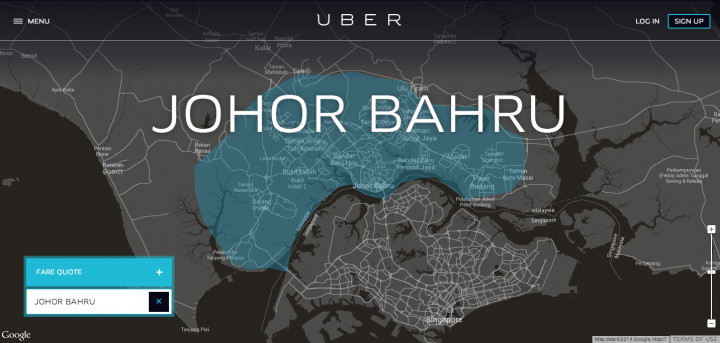 uber johor bahru