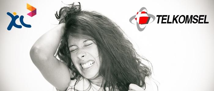 frustrated-women telkomsel xl axiata