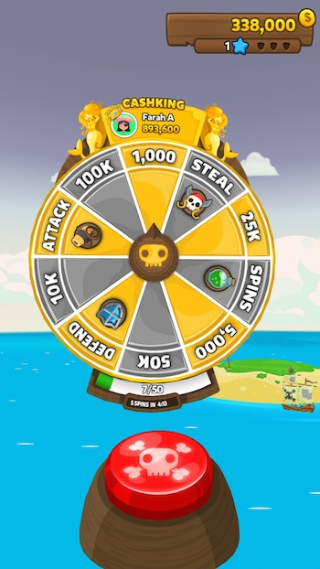 pirate kings wheel