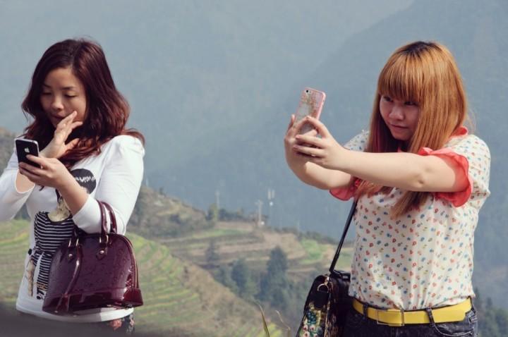 China data on web, mobile, social media at start of 2015