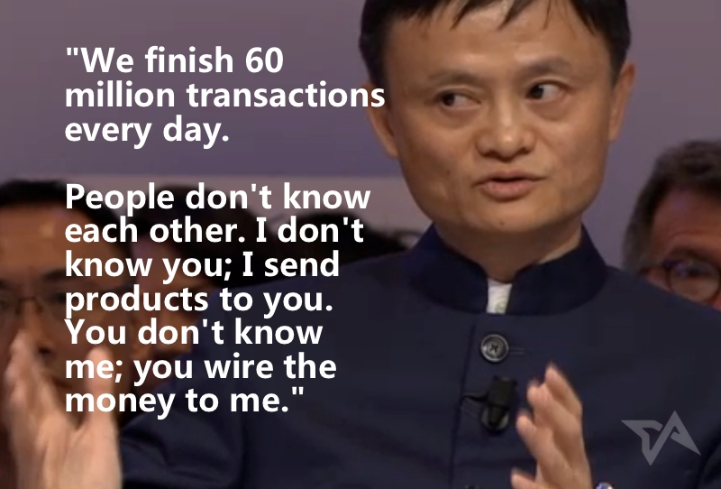 15 of the best quotes from Jack Ma's interview at Davos