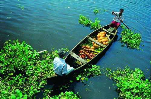 Photo credit: Kerala Tourism Logistics in India can be tough.