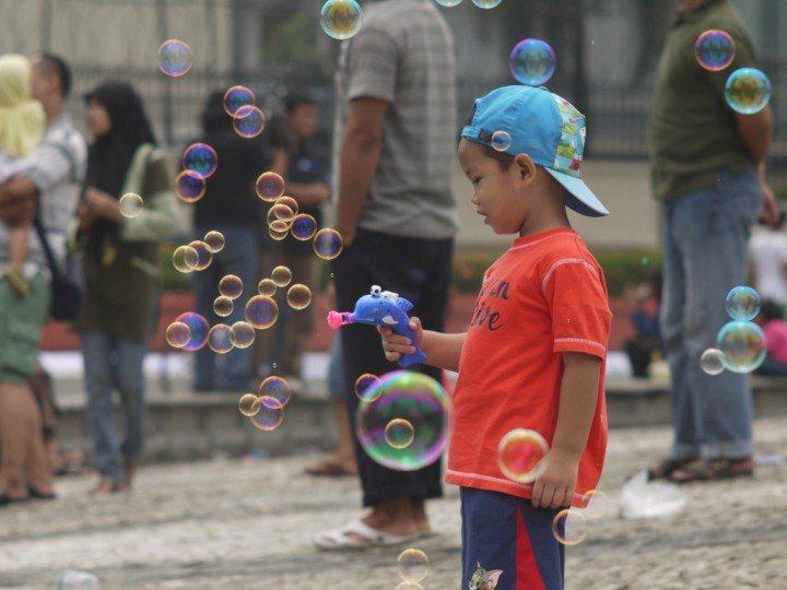 Indonesia bubble