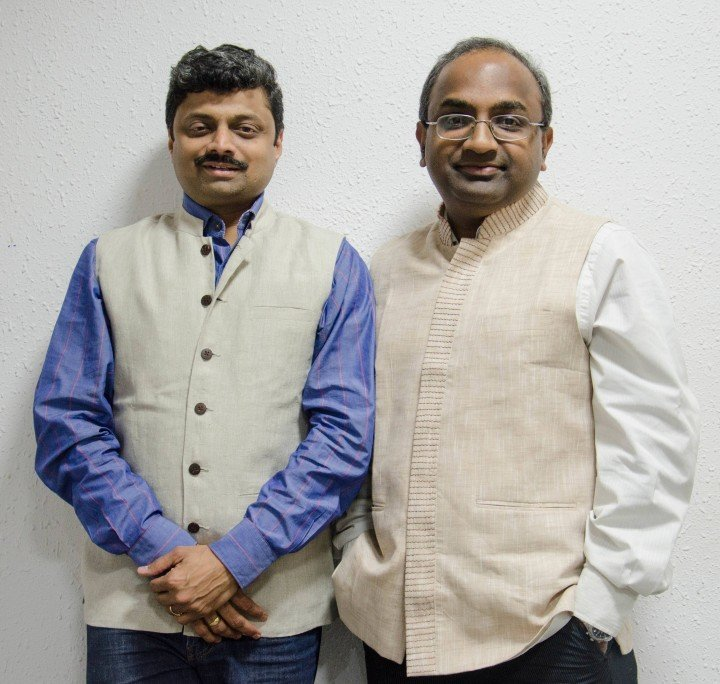 Qwikcilver founders Pratap TP and Kumar Sudarshan