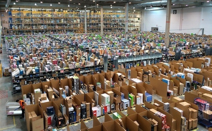 amazon warehouse ecommerce