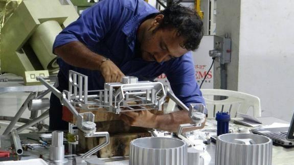 Team Indus working on its Lunar Lander