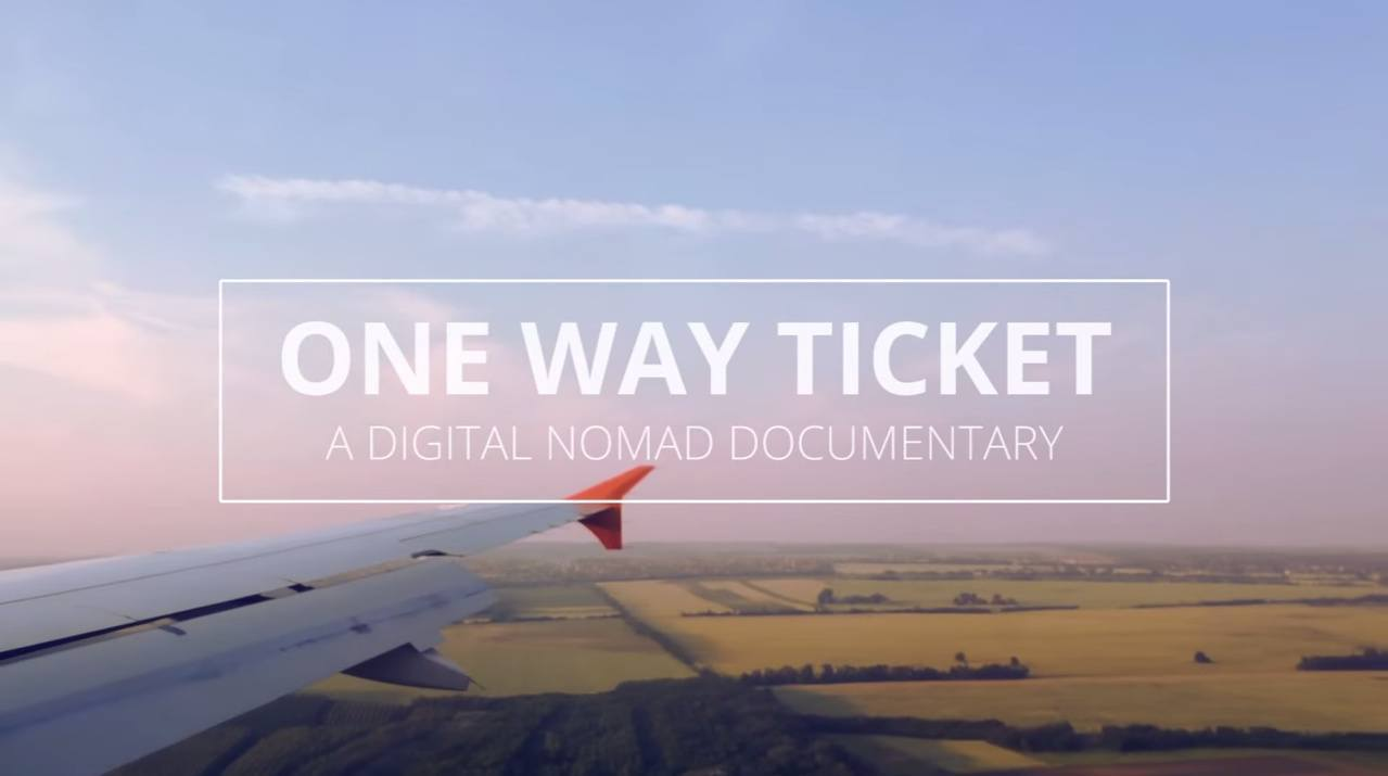 One Way Ticket is a digital nomad documentary being filmed by Korean journalist turned nomad Do You-jin.