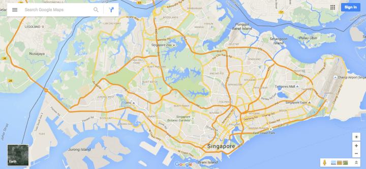 singapore-maps-app