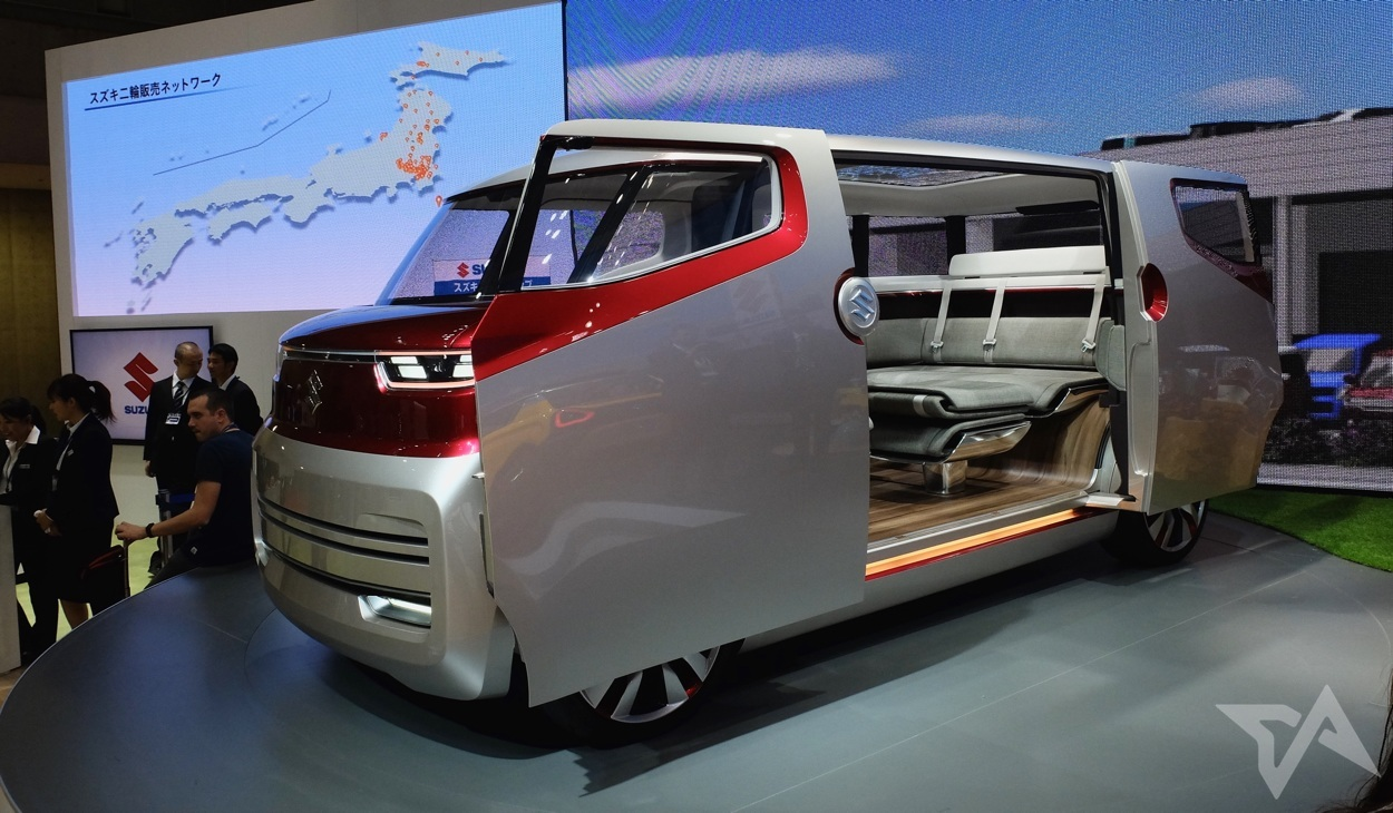 5 Crazy Innovative Concept Vehicles At Tokyo Motor Show