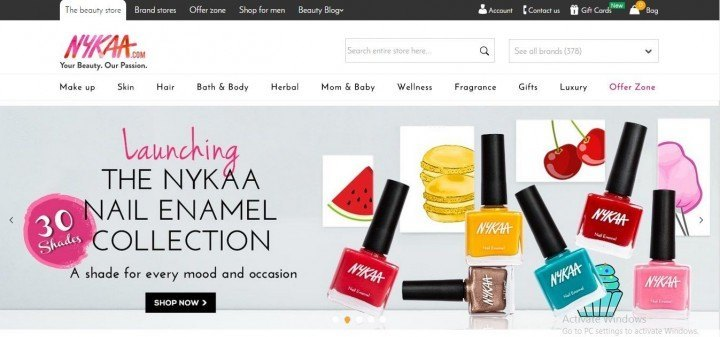 Nykaa Gets Funding In Battle To Be India S Top Cosmetics