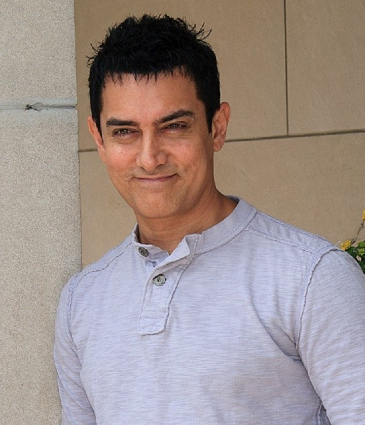 Bollywood actor Aamir Khan. Photo credit: Gordon Correll