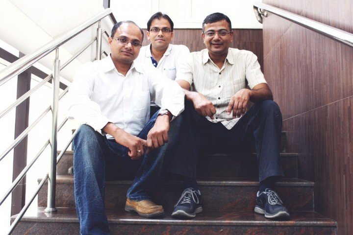 From L-R Sudhakar Gorti, Chief Product Officer; Prashant Singh, Chief Customer Officer; Nilesh Patel, Chief Executive Officer, LeadSquared