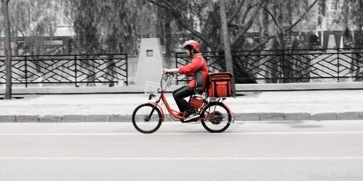 Delivery Boy Photo Credit: Antonio Foncubierta