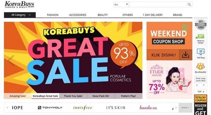 Screenshot of KoreaBuys.com