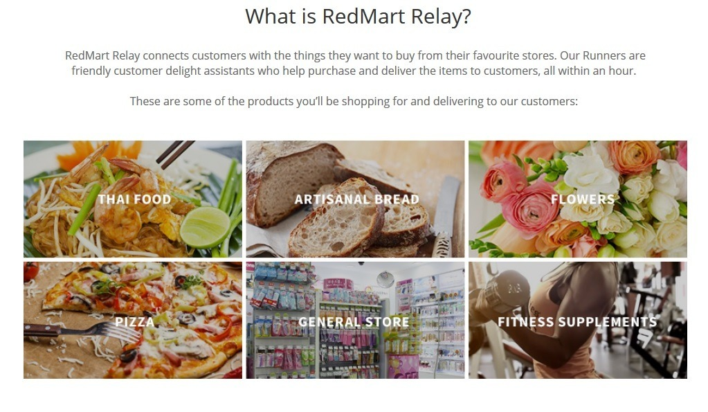 RedMart Relay page