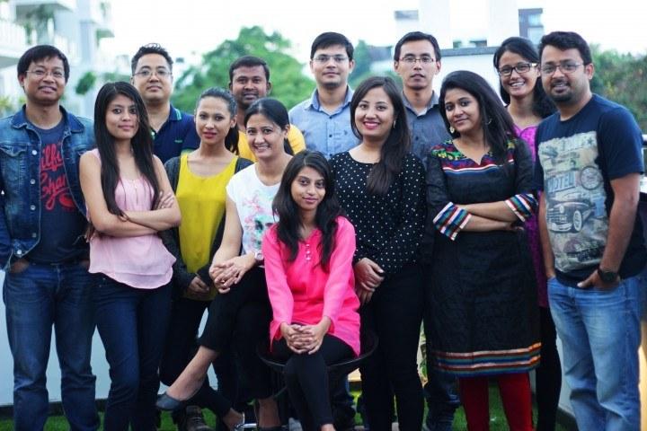 Giskaa's Bangalore team