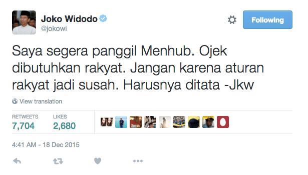 Original tweet: