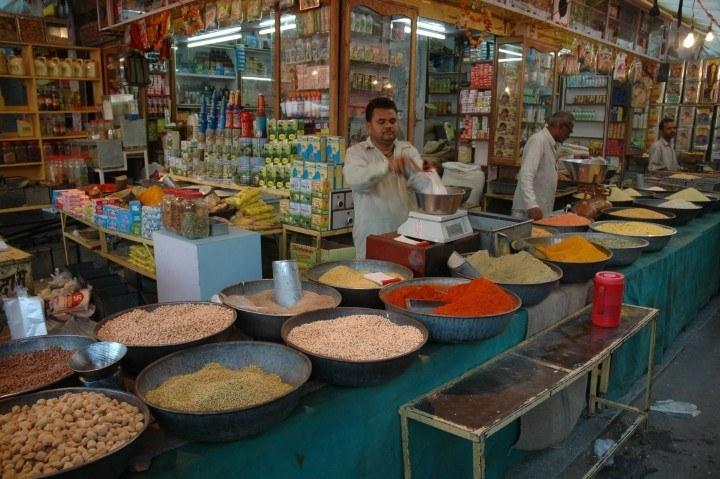 grocery store india