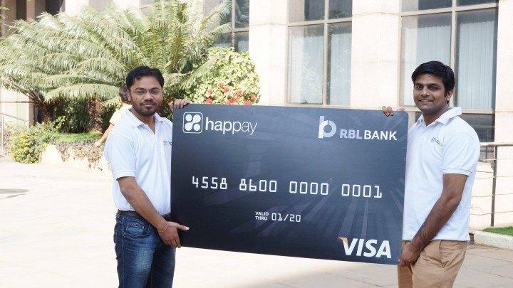 The Happay Card Launch - Anshul Rai - LEft, Varun Rathi - Right