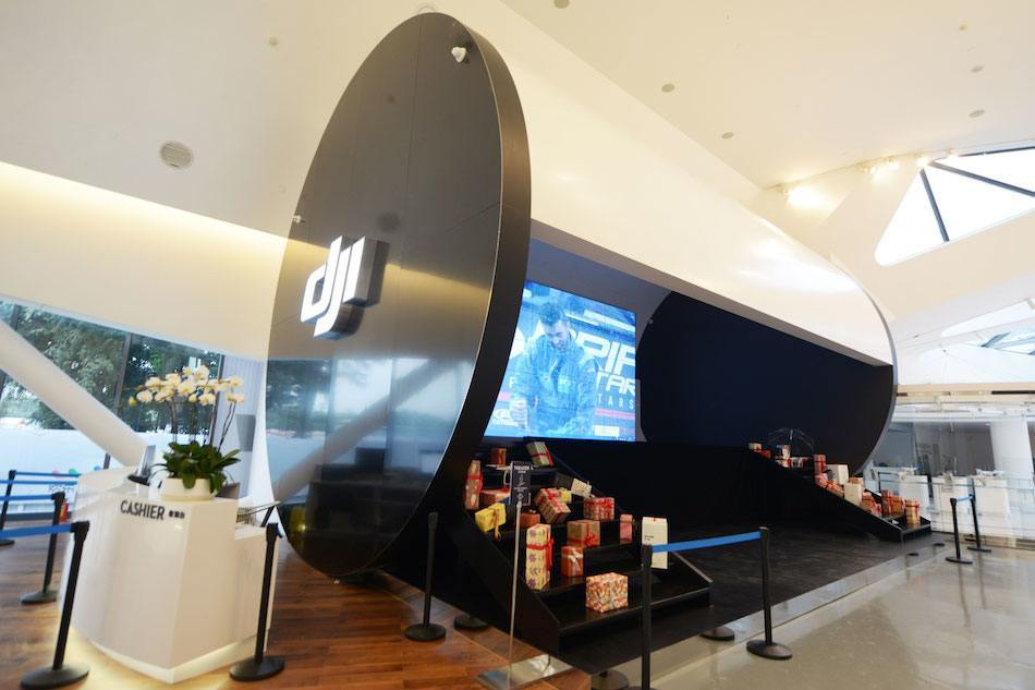 DJI shows ambitions with first store, gives shoppers a chance to see drones in flight