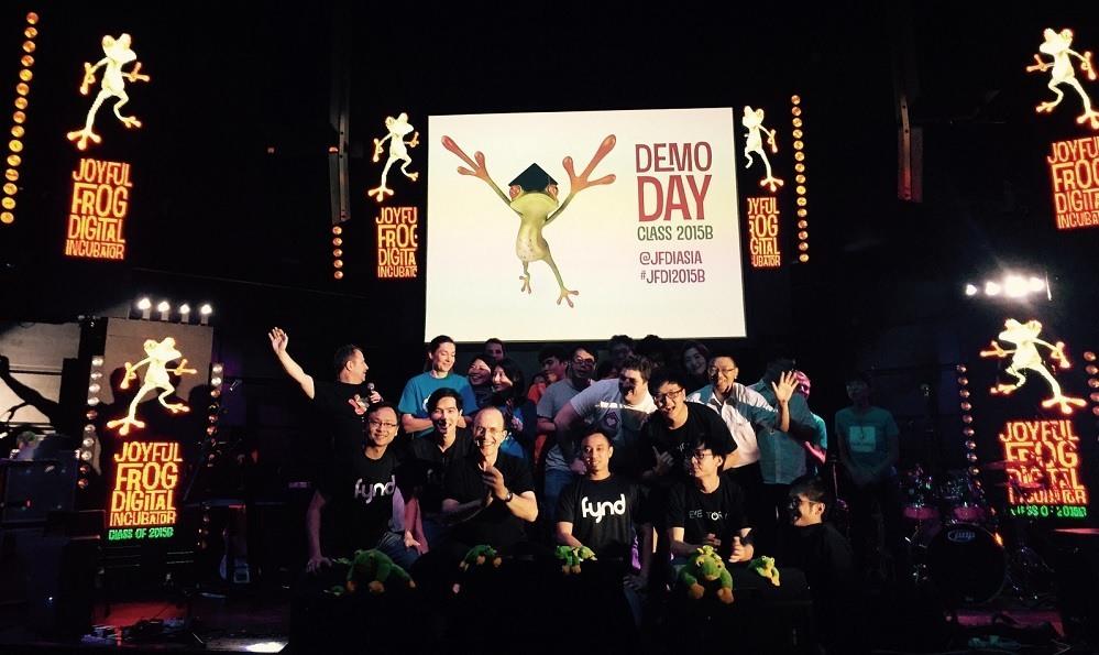 JFDI Accelerator demo day 2015B