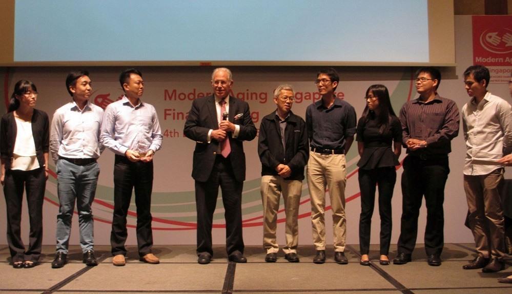 Modern Aging Singapore 2015 winning teams