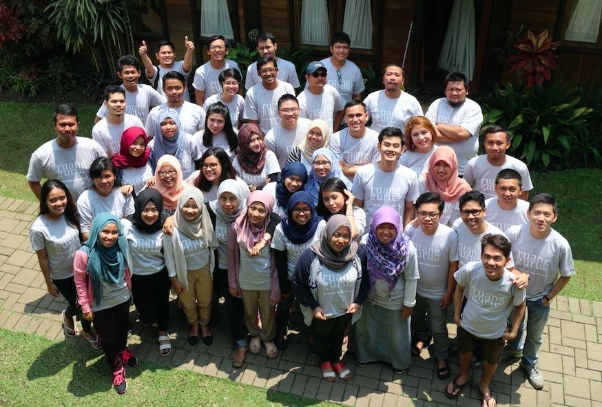 The Ruangguru team
