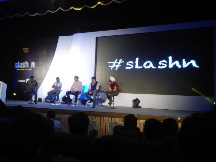 The CEO Panel at Flipkart's Slashn