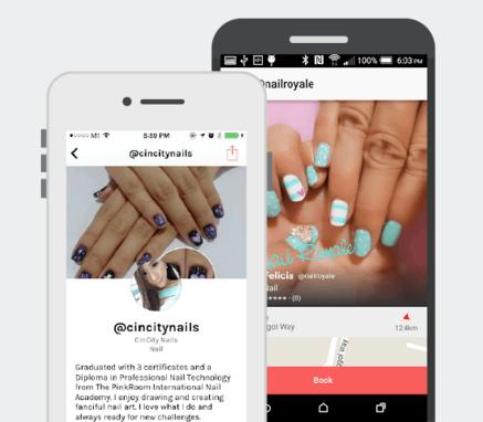 vanitee app screenshots